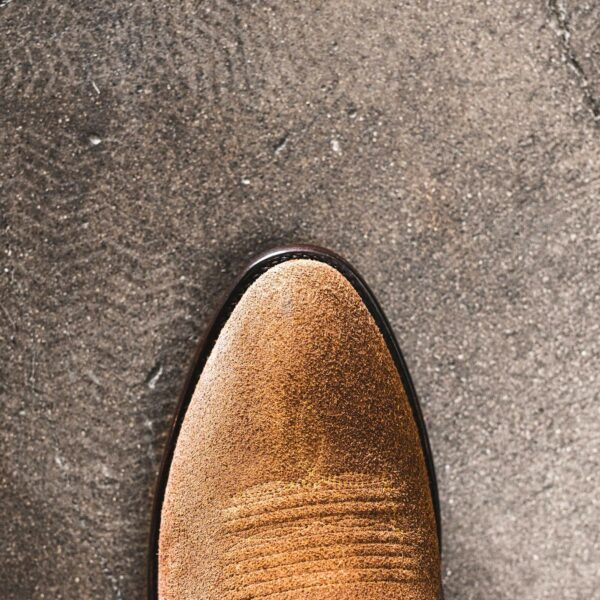 RUJO Boots - Canyon Greige Top Toe Photo