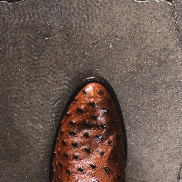 RUJO Boots - Lucky Brown Top Toe Photo